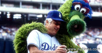 Tommy Lasorda Was a Celebrity. He Was Also a Leader.