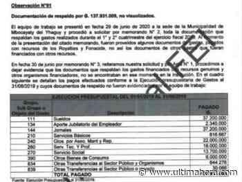 Contraloría detectó algunas irregularidades en Mbocayaty - ÚltimaHora.com