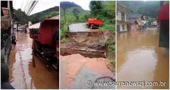 Além de Friburgo, temporal causa transtornos em Bom Jardim e Sumidouro - Serra News