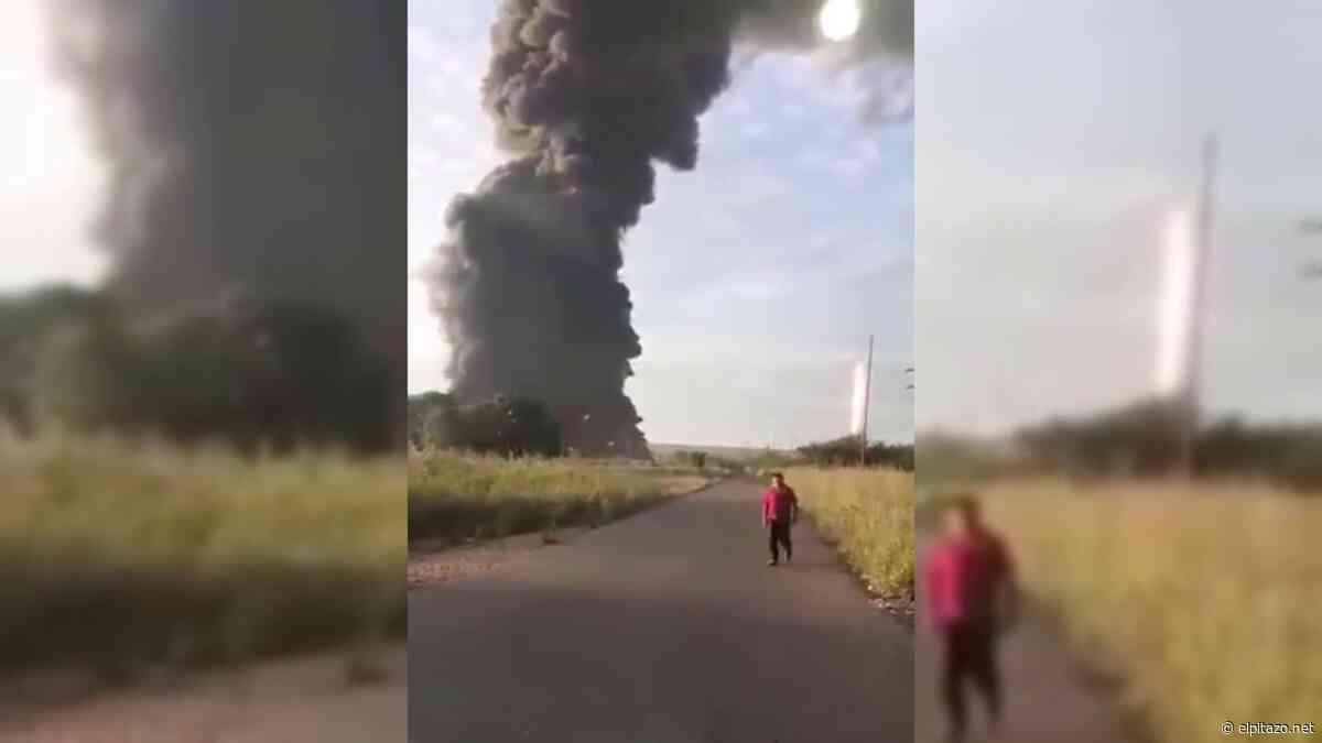 Monagas | Se incendia pozo petrolero en Punta de Mata - El Pitazo