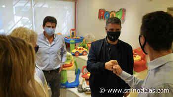 Jorge Macri visitó una fábrica de juguetes de Villa Martelli - SMnoticias