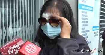 Lanzan lejía en el rostro a regidora de Chupaca en Junín - Canal N