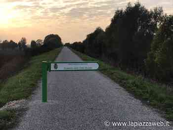 Completata la ciclabile per Montagnana - La Piazza
