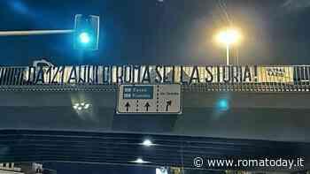 Compleanno Lazio, striscione ultras a Corso Francia. Il video discorso di Lotito