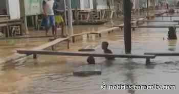 Desbordamiento del río Atrato afecta a 5.000 familias en Carmen del Darién, Chocó - Noticias Caracol