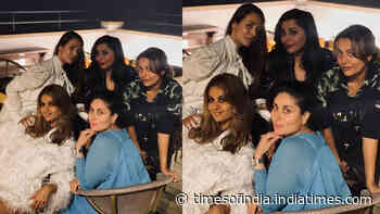 Girls night! Kareena Kapoor Khan reunites with her gang including Amrita Arora, Malaika Arora, for the first time in 2021