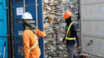 """Ökodumping"" t statt Recycling: Wenn Plastikmüll um den Globus schippert"