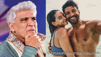 When Javed Akhtar opened up about son Farhan Akhtar's wedding rumours with Shibani Dandekar
