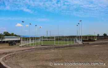 Rehabilita Seduvop parque y canchas deportivas en Charcas - El Sol de San Luis