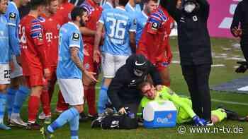 1860 siegt gegen FC Bayern II: Zirkzees blutiger Tritt überschattet Derby
