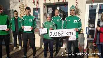 U17-Lauf-Challenge: Von Raitenbuch bis fast nach Moskau - Nordbayern.de