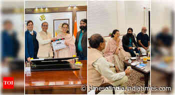 Dhaakad: Kangana meets MP CM ahead of shoot