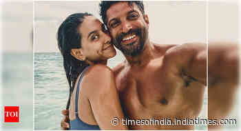 Shibani's emotional note for Farhan's b'day