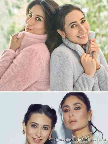 The Kapoor sisters: Kareena and Karisma