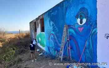 La playa El Bejuco se llena de murales artísticos - El Sol de Zamora