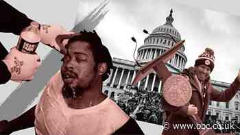 Capitol riots: Black Americans decry police double standards