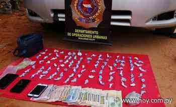 Capturan a distribuidor de cocaína en Capiatá: tenía casi 100 'moñitos' listos para la venta - Hoy