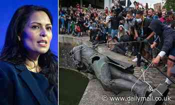 Priti Patel tackles the woke police chiefs who let mobs tear down statues