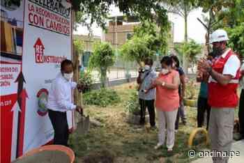 La Libertad: inician obra de reconstrucción de colegio N° 80930 de Chepén - Agencia Andina