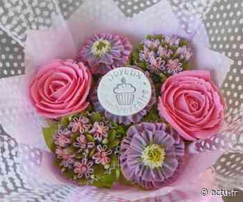 Bailly-Romainvilliers. Cupcakes : des bouquets de fleurs à offrir et… à déguster - actu.fr