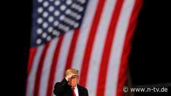 """Er würde """"Nationalheld"""" werden: Trump drängte auch Ermittler in Georgia"""