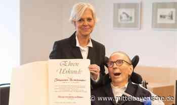 Pilsach ehrt Johannes Berschneider - Mittelbayerische