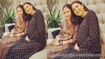 Anushka Sharma's pregnancy glow is unmissable in this new picture with close friend and celebrity stylist Ameira Punvani
