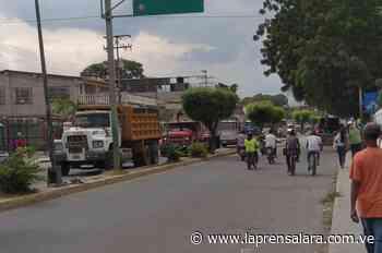 Transportistas de El Tocuyo protestan por falta de gasoil - La Prensa de Lara