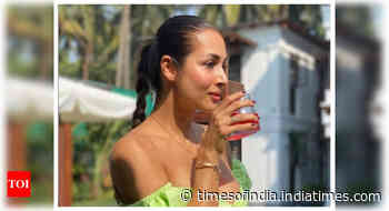 Malaika posts a throwback from Goa vacay