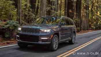 Vorerst nur für die USA: Der neue Jeep Grand Cherokee