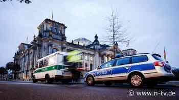 Nach Sturm auf US-Kapitol: Polizei verstärkt Schutz des Bundestages