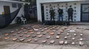 En la vía Natagaima – Castilla se logró incautar más de 150 kilos de cocaína - Ecos del Combeima