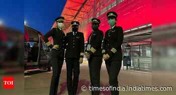 Flown by 4 women pilots, AI SFO-BLR polar route flight set to take off