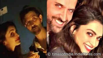 Hrithik Roshan and Deepika Padukone's chats on Twitter hint at their collaboration for an upcoming project