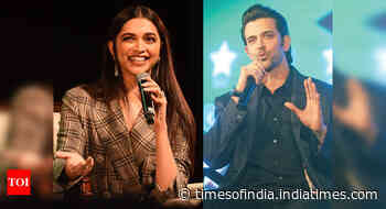 Hrithik announces 'Fighter' with Deepika