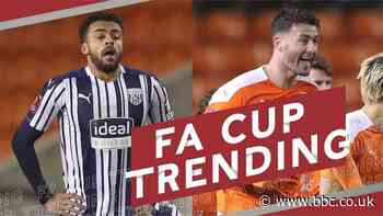 FA Cup: Blackpool knock out Premier League West Bromwich Albion on penalties