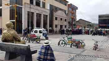 El mal estado de las calles en Ayaviri viene generando protestas en diferentes sectores - Radio Onda Azul