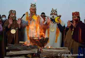 Arce y Choquehuanca son posesionados en ceremonia ancestral en Tiahuanaco - EL DEBER