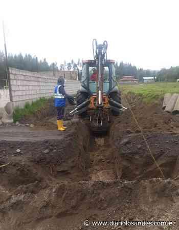 En Latacunga mejoran la dotación de servicios básicos para la población - Diario Los Andes