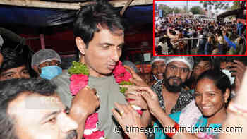 Sonu Sood's fans call him a 'real hero' as he visits Shirdi Temple, launches an initiative for children deprived of online classes