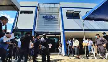 Inauguran puesto policial en Jiquilisco, Usulután. - Diario El Mundo