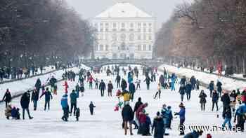 Ausflügler zahlreich unterwegs: Eisfläche in München bricht bei Ansturm ein