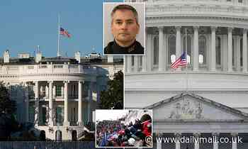 White House FINALLY lowers flags to half-staff for murdered Capitol cop Sicknick