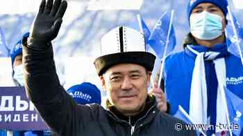 Nach blutigen Protesten: Ex-Häftling wird Präsident in Kirgistan