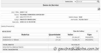 Ex-prefeito de Livramento Ico Charopen recebeu R$ 93 mil em dezembro - GauchaZH