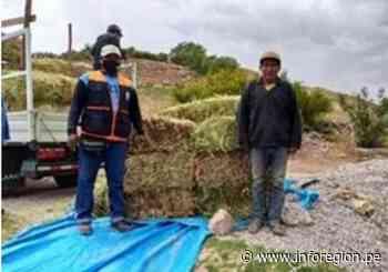 Moquegua: Entregan ayuda humanitaria por bajas temperaturas en Torata - INFOREGION