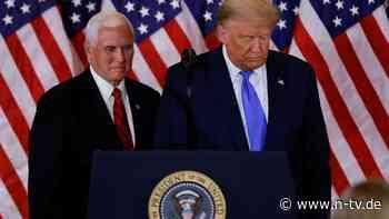 Pence könnte Ende beschleunigen: Pelosi legt Fahrplan für Impeachment vor