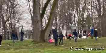 Köln: Polizei löst Party am Aachener Weiher auf – keine Verstöße - EXPRESS