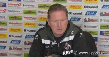 1. FC Köln: Trotz 0:5-Klatsche: Das stimmt Markus Gisdol optimistisch - SPORT1