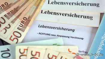 Beiträge und Zinsen: Lebensversicherer wollen Garantie senken